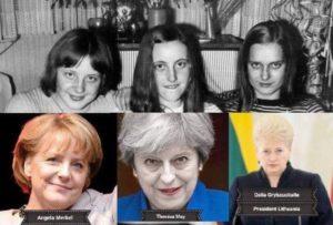 Бенджамин Фулфорд, 4 мая 2020. Удастся ли мошенникам спрятать Секретные Космические Силы? Hitler-daughters2-300x203